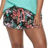 Plus Size SO® Printed Pajama Shorts