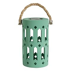 SONOMA Goods for Life™ Large Solar Powered Rope Lantern Indoor / Outdoor Table Decor