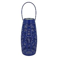SONOMA Goods for Life™ Large Solar Powered Moroccan Lantern Indoor / Outdoor Table Decor