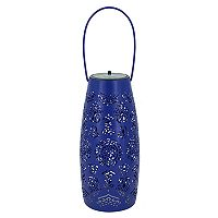 SONOMA Goods for Life™ Small Solar Powered Moroccan Lantern Indoor / Outdoor Table Decor