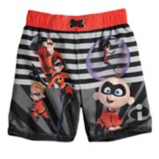 Disney / Pixar The Incredibles Toddler Boy Striped Swim Trunks