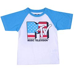 Toddler Boy MTV Music Television Raglan Graphic Tee