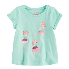 Toddler Girl Jumping Beans® Graphic Swing Tee