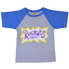 Toddler Boy Rugrats Raglan Graphic Tee