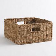 Linon Folding Storage Basket