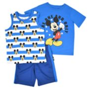 "Disney's Mickey Mouse Toddler Boy ""The One And Only""  Tee, Tank Top & Shorts Set"