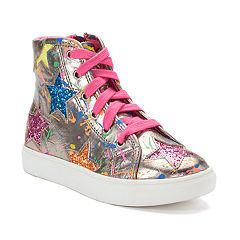 SO® Splatter Star Girls' Sneakers