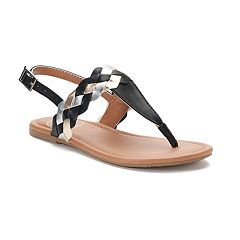SO® Multi Braid Girls' Sandals