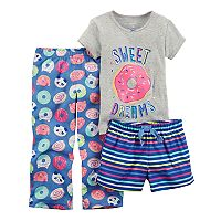 Baby Girl Carter's 3 pc Pajama Set