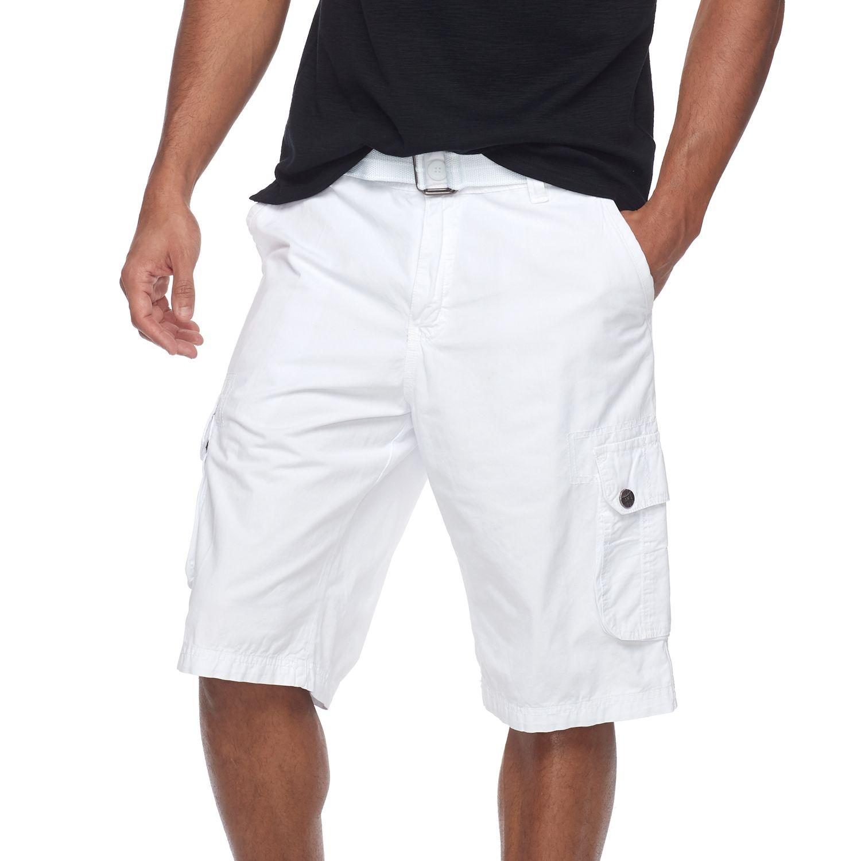 White Mens Shorts