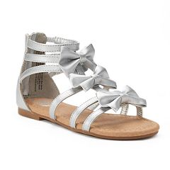 SO® Bow Girl's Gladiator Sandals