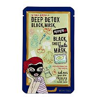 Dewytree Deep Detox Black Sheet Mask