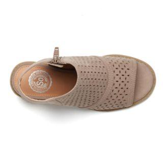 SO® Peep Toe Girl's Sandals