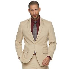 Men's Apt. 9® Slim-Fit Tan Stretch Suit Jacket