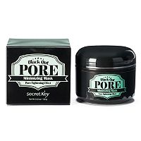 Secret Key Black Out Pore Minimizing Mask