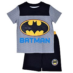 Toddler Boy DC Comics Batman Tee & Shorts Set