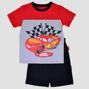Disney / Pixar Cars Toddler Boy Lightning McQueen Tee & Shorts Set