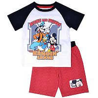 Disney's Mickey Mouse Toddler Boy Mickey & Friends Hanging Around Tee & Shorts Set