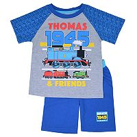 Toddler Boy Thomas & Friends Raglan Tee & Shorts Set