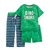 Toddler Boy Carter's 3-pc. Pajama Set