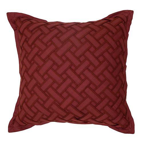Waverly Fresco Flourish Textured Throw Pillow