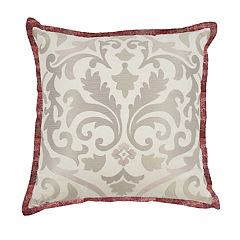 Waverly Fresco Flourish Embroidered Throw Pillow