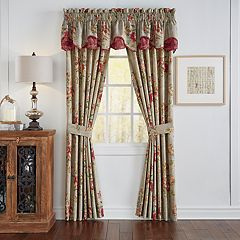 Waverly Fresco Flourish 2-pack Window Curtains