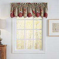 Waverly Fresco Flourish Scalloped Window Valance