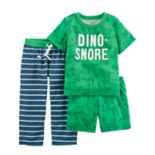 Baby Boy Carter's 3-pc. Print Pajama Set