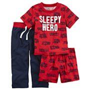 Baby Boy Carter's 3 pc Print Pajama Set