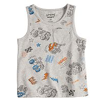 Toddler Boy Jumping Beans® Pocket Tank Top