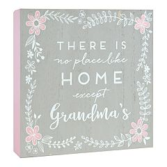 Belle Maison 'Grandma's' Box Sign Art