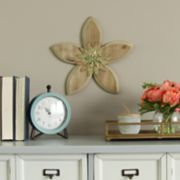 Stratton Home Decor Rustic Flower Wall Decor