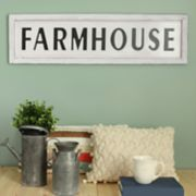"Stratton Home Decor ""Farmhouse"" Wall Decor"