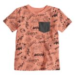 Toddler Boy Jumping Beans® Captioned Pocket Graphic Tee