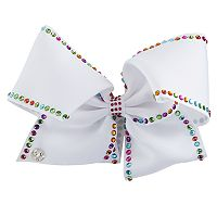 Girls 4-16 JoJo Siwa Rainbow Rhinestone Trim Giant Bow