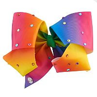 Girls 4-16 JoJo Siwa Tulle Rainbow Rhinestone Giant Bow