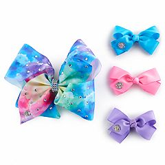 Girls 4-16 JoJo Siwa 4-pk. Giant Bow & Mini Bows Set