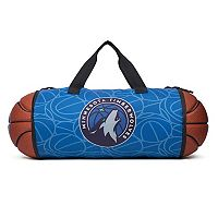 Minnesota Timberwolves Authentic NBA Basketball Duffle Bag