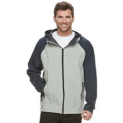 Men's HKE Hooded Rain Jacket