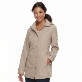 Women's Weathercast Hooded Bonded Jacket