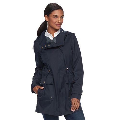 Women's Weathercast Hooded Performance Anorak Jacket