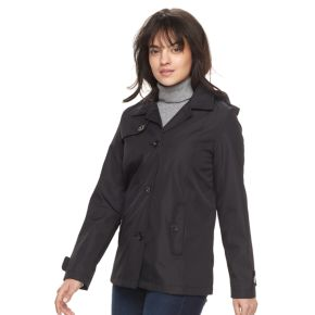 Women's Weathercast Hooded A-Line Topper Jacket