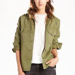 Women's Levi's Military Shirt Jacket
