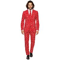 Men's OppoSuits Slim-Fit Iconicool Novelty Suit & Tie Set