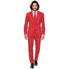 Men's OppoSuits Slim-Fit Iconicool Novelty Suit & Tie Set