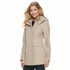 Women's Weathercast Hooded Topper Jacket