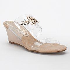 New York Transit Fan Of Mine Women's Wedge Sandals