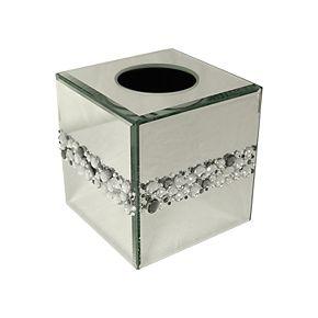 Elegant Home Fashions Harlow Boutique Tissue Box Cover