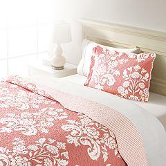 Home Classics® Sarah Damask Quilt